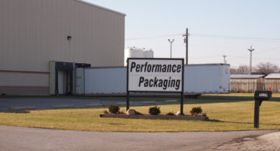 Performance Packaging Toledo Sign